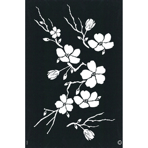 G Body Art - Elite Stencils - Cherry Blossom ()