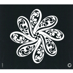 G Body Art - Essential Stencils - 2 Per Pack - Pinwheel ()