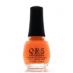 QRS Nail Lacquer - CARIBBEAN ORANGE 0.5 oz. - #285 (QRS285)