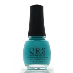 QRS Nail Lacquer - CARIBBEAN TURQUOISE 0.5 oz. - #565 (QRS565)