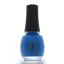 QRS Nail Lacquer - LOVE IS BLUE 0.5 oz. - #573 (QRS573)