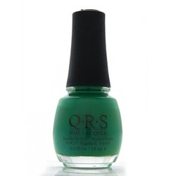 QRS Nail Lacquer - MEAN GREEN 0.5 oz. - #553 (QRS553)