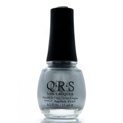 QRS Nail Lacquer - SILVER FROST 0.5 oz. - #106 (QRS106)