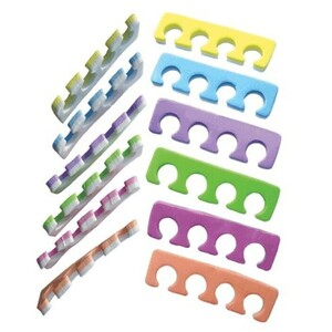 Two-Tone Soft Toe Separators 100 Pair (928701909692)