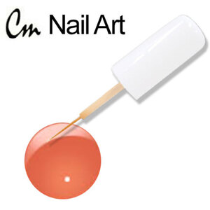 CM Nail Art - Orange Red 0.33 oz. (NA03)