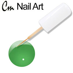 CM Nail Art - Hot Green 0.33 oz. (NA05)