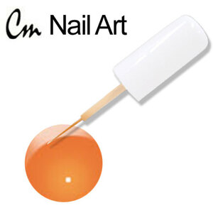 CM Nail Art - Hot Orange 0.33 oz. (NA13)