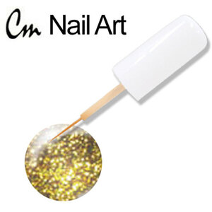 CM Nail Art - Gold Glitter 0.33 oz. (NA19)