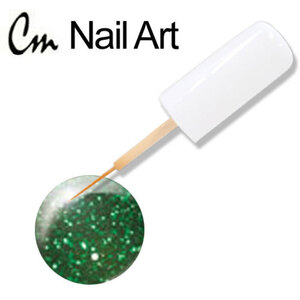 CM Nail Art - Green Glitter 0.33 oz. (NA24)