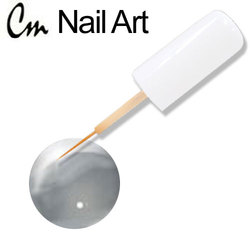 CM Nail Art - Dark Silver 0.33 oz. (NA26)