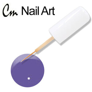 CM Nail Art - True Violet 0.33 oz. (NA38)
