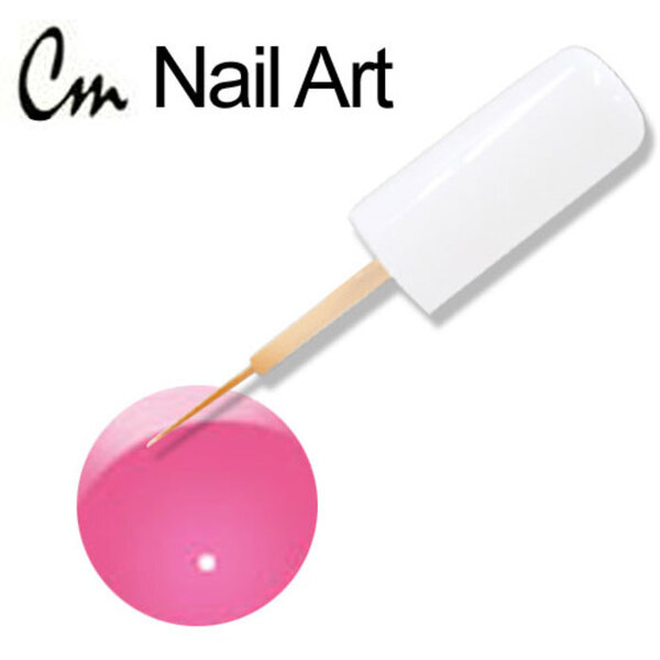 CM Nail Art - Electric Colors - Pink Shock 0.33 oz. (NAS03)