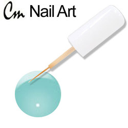 CM Nail Art - Electric Colors - Teal Charge 0.33 oz. (NAS04)