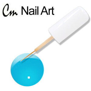 CM Nail Art - Electric Colors - Blue Volt 0.33 oz. (NAS06)
