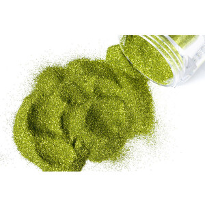 G Body Art - Classic Glitter - Apple Green 0.3 oz. (GGL-APPLEGREENB)