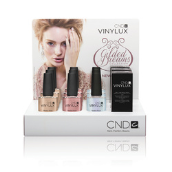 CND Vinylux Holiday Gilded Dreams Collection Holiday POP Display ()