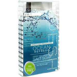 Voesh Pedicure in a Box - 4-Step Hygienic Spa Pedicure Kit - Ocean Refresh 1 Treatment Set ()
