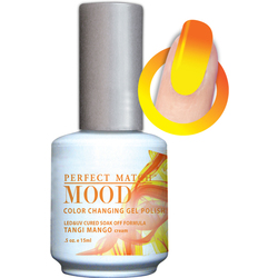 Mood Color Changing Soak Off Gel Polish - Tangi Mango (MPMG36)