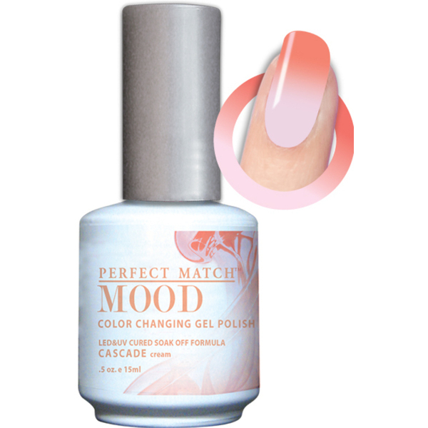 Mood Color Changing Soak Off Gel Polish - Cascade (MPMG32)