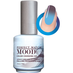 Mood Color Changing Soak Off Gel Polish - Falling Raindrops (MPMG29)