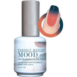 Mood Color Changing Soak Off Gel Polish - Deep Sea (MPMG25)
