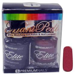 ManiPedi - Elite Matching Gel Polish + Lacquer - Sweet Sophisticate 0.5 oz. Each (0663903605200 MP520)