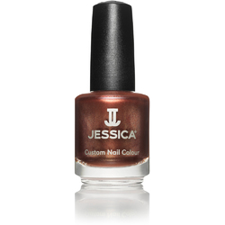 Jessica Custom Nail Colour Polish - Hot Fudge - Shimmer Finish 0.5 oz. (432)