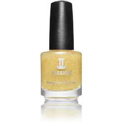 Jessica Custom Nail Colour Polish - Gold Hologram Topcoat 0.5 oz. (600)