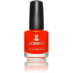 Jessica Custom Nail Colour Polish - Shock Me Red - Cream Finish 0.5 oz. (656)