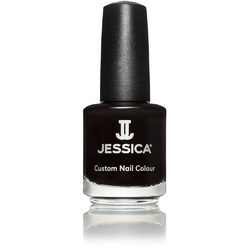 Jessica Custom Nail Colour Polish - Black Matte - Matte Finish 0.5 oz. (759)