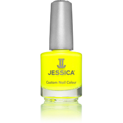 Jessica Custom Nail Colour Polish - Yellow Flame - Cream Finish 0.5 oz. (092)