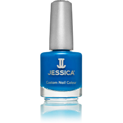 Jessica Custom Nail Colour Polish - Blue Blast - Cream Finish 0.5 oz. (095)
