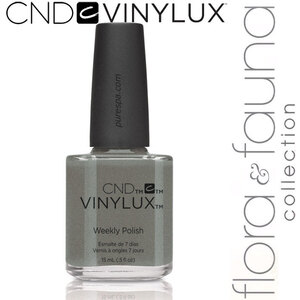 CND Vinylux Polish - Spring 2015 Flora & Fauna Collection - Wild Moss 0.5 oz. - 7 Day Air Dry Nail Polish (639370907734 - #186)