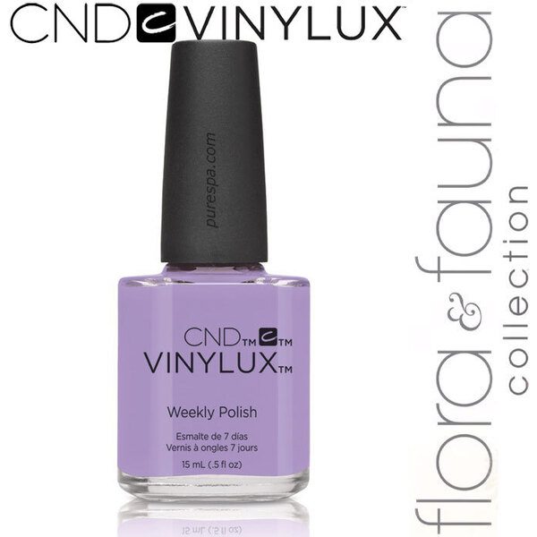 CND Vinylux Polish - Spring 2015 Flora & Fauna Collection - Thistle Thicket 0.5 oz. - 7 Day Air Dry Nail Polish (639370907710 - #184)