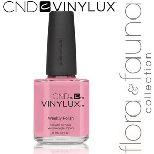 CND Vinylux Polish - Spring 2015 Flora & Fauna Collection - Blush Teddy 0.5 oz. - 7 Day Air Dry Nail Polish (639370907697 - #182)