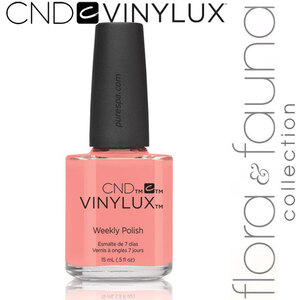 CND Vinylux Polish - Spring 2015 Flora & Fauna Collection - Salmon Run 0.5 oz. - 7 Day Air Dry Nail Polish (639370907680 - #181)