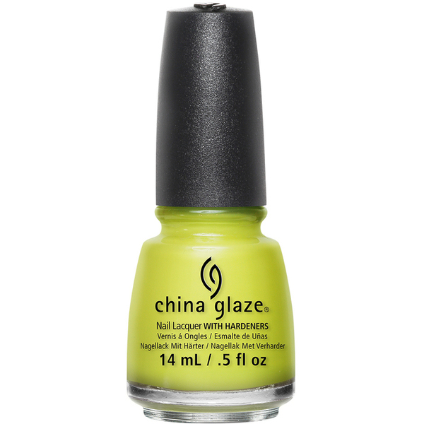 China Glaze Lacquer - TRIP OF A LIME TIME - Part of the Spring 2015 Road Trip Collection 0.5 oz. (CG82379)