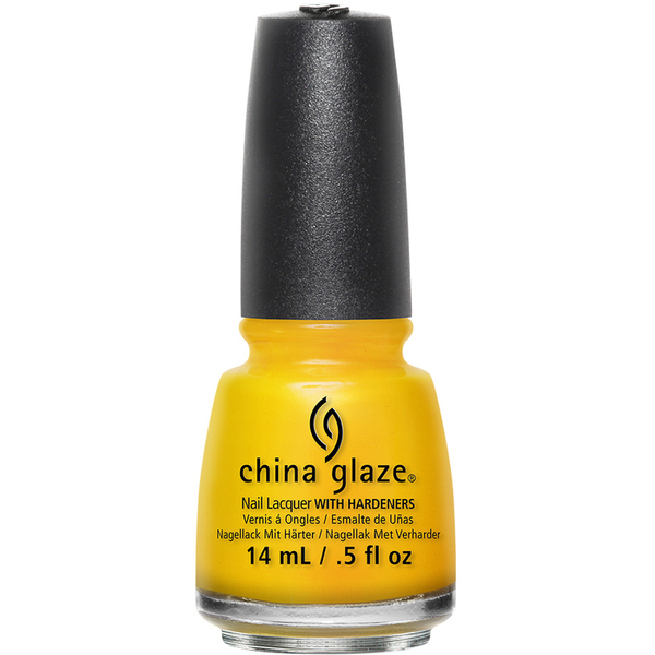 China Glaze Lacquer - SUN'S UP TOP DOWN - Part of the Spring 2015 Road Trip Collection 0.5 oz. (CG82390)