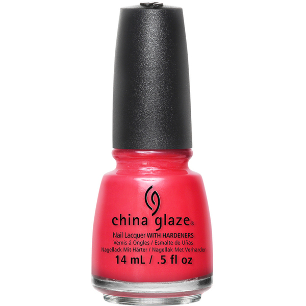 China Glaze Lacquer - I BRAKE FOR COLOUR - Part of the Spring 2015 Road Trip Collection 0.5 oz. (CG82388)