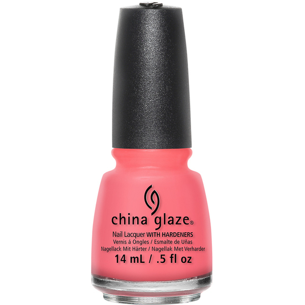China Glaze Lacquer - PINKING OUT THE WINDOW - Part of the Spring 2015 Road Trip Collection 0.5 oz. (CG82387)