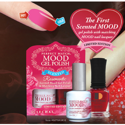 LeChat Scented Mood Gel Polish & Nail Lacquer - Rosemantic (MPMGRS1)