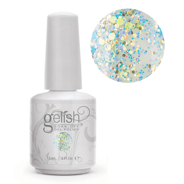 Gelish Soak Off Gel Polish - Trends Collection - A Delicate Splatter 0.5 oz. (#01624)