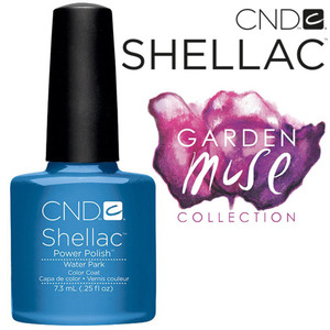 CND SHELLAC UV Color Coat - 2015 Garden Muse Collection - Water Park 0.25 oz. - The 14 Day Manicure is Here! (0639370099422)