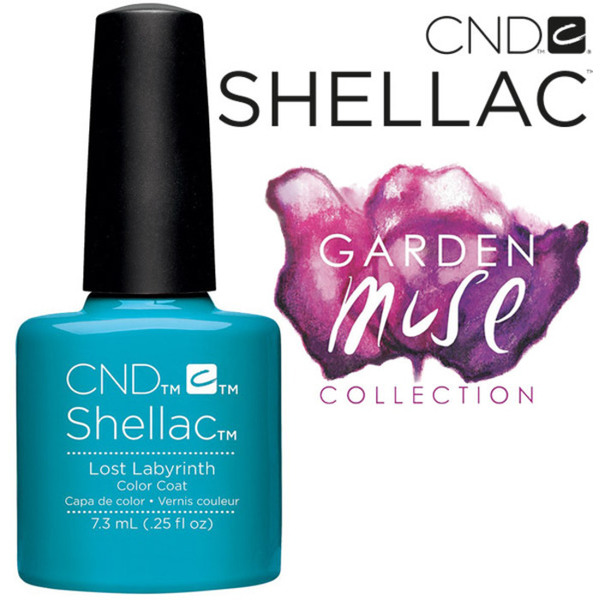 CND SHELLAC UV Color Coat - 2015 Garden Muse Collection - Lost Labyrinth 0.25 oz. - The 14 Day Manicure is Here! (7219676000)