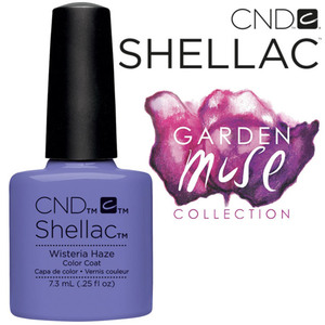 CND SHELLAC UV Color Coat - 2015 Garden Muse Collection - Wisteria Haze 0.25 oz. - The 14 Day Manicure is Here! (7219677000)