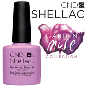 CND SHELLAC UV Color Coat - 2015 Garden Muse Collection - Beckoning Begonia 0.25 oz. - The 14 Day Manicure is Here! (7219674000)