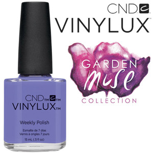 CND Vinylux Polish - 2015 Garden Muse Collection - Wisteria Haze 0.5 oz. - 7 Day Air Dry Nail Polish (7219735000)