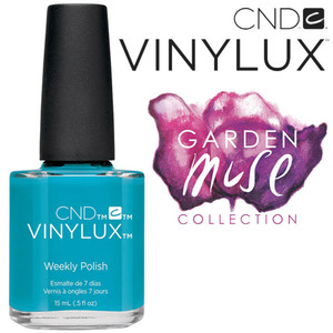 CND Vinylux Polish - 2015 Garden Muse Collection - Lost Labyrinth 0.5 oz. - 7 Day Air Dry Nail Polish (7219733000)