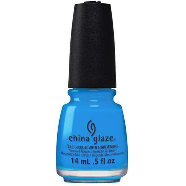 China Glaze Lacquer - Electric Nights Collection - DJ BLUE MY MIND 0.5 oz. (82606)