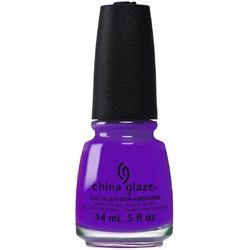 China Glaze Lacquer - Electric Nights Collection - PLUR-PLE 0.5 oz. (82601)